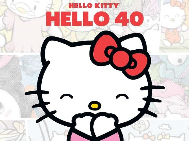 Hello Kitty 40 éves