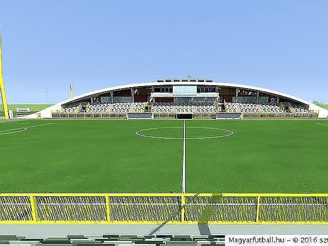 A szigetszentmiklósi stadion látványterve