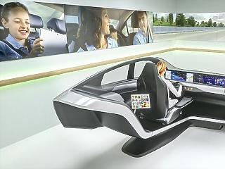 Így vezeti az autót az ember és a gép: lélegzetelállító megoldással rukkolt elő a Continental