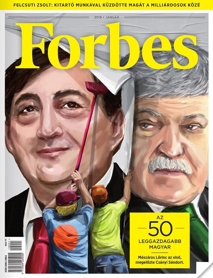 A Forbes címlapja