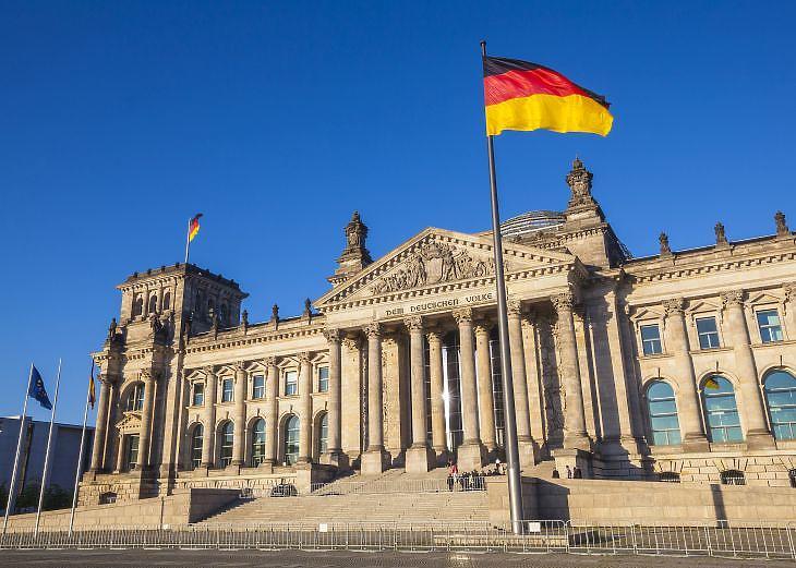 A német parlament Berlinben. Illusztráció. (Forrás: Depositphotos)