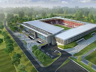A hideg idő és a nagy eső miatt is még 133 millióval drágult a Vidi új stadionja