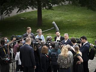 Orbán Viktor: ha nem sikerül megállapodni, az a holland fickó miatt lesz