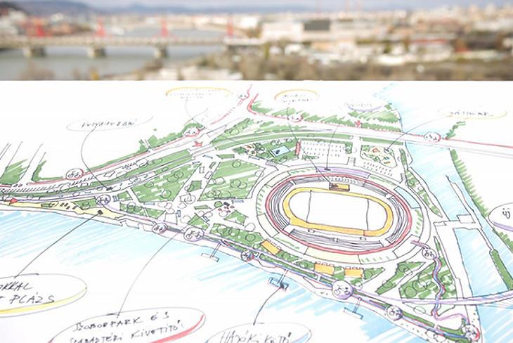 Óriási összegből épül majd meg a stadion (Forrás: Ferencvárosi önkormányzat)