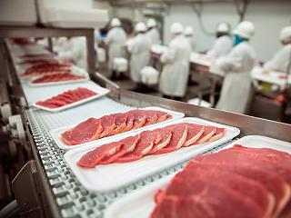 5,8 százalékkal csökkent a húságazat teljesítménye tavaly