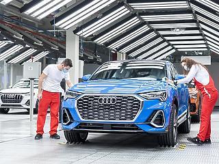 Egymilliárd euróval csökkent az Audi Hungária bevétele tavaly