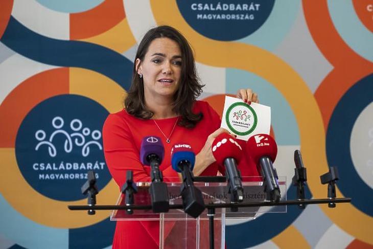 Novák Katalin (Fotó: MTI/Mónus Márton)