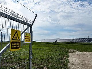 Napelempark épült a Videoton székesfehérvári ipari parkjában