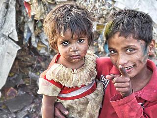 A járvány csak növelte a szegények leszakadását