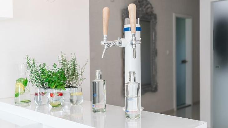 A vezetékes vízből hozhatunk létre olyan kiváló minőségű szűrt vizet. Fotó: bwt.com