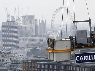 Csődbe ment a britek 200 éves építőipari gigásza