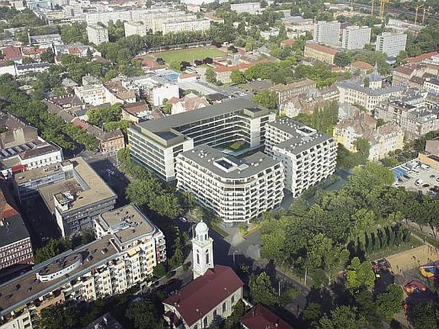 Nem csak kocka lakótelepek épülnek Budapesten