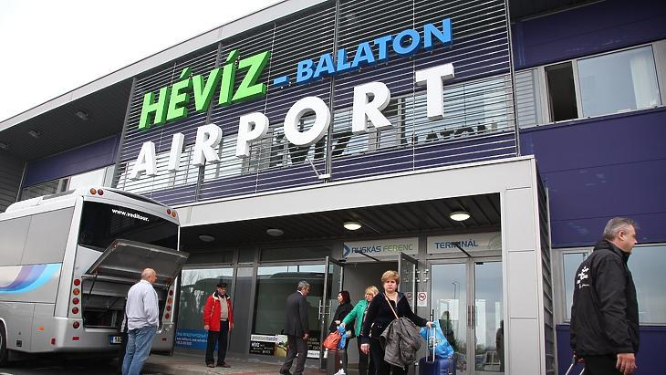 Hévíz-Balaton Airport repülőtér (Fotó: MTI / Varga György)
