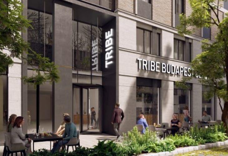 A leendő TRIBE hotel látványterve (fotó: futureal)