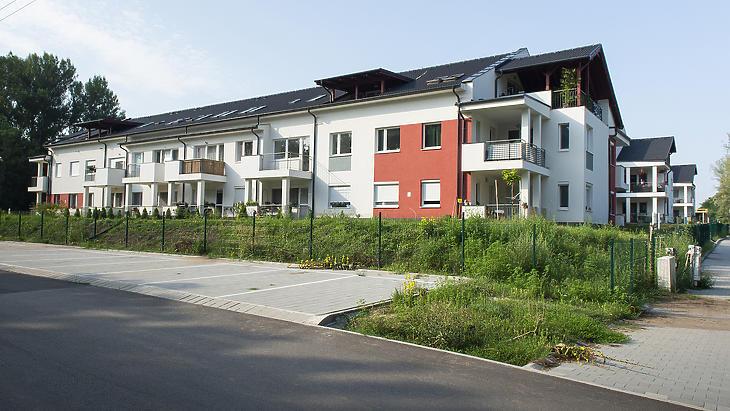 A veresegyházi Gyermekliget lakópark. Fotó: Index.hu