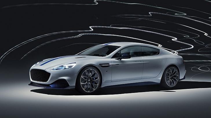Az Aston Martin elektromos autója, a Rapid E