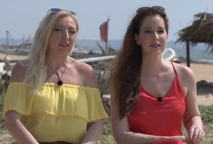 A nézők imádták a két barátnő közötti feszültséget (Forrás: TV2)