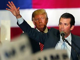 Trump megvédte a fiát, a