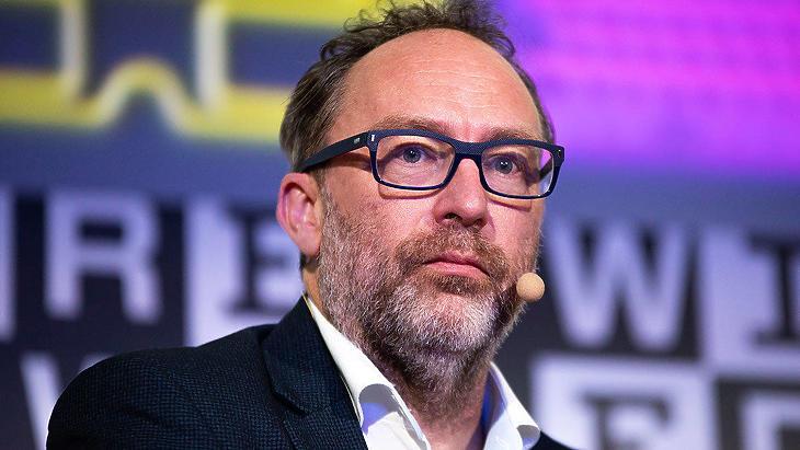 Jimmy Wales (Fotó: Getty)