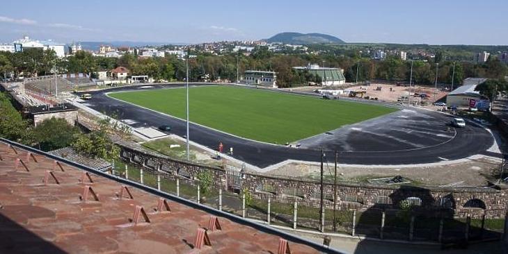 Az egri stadion