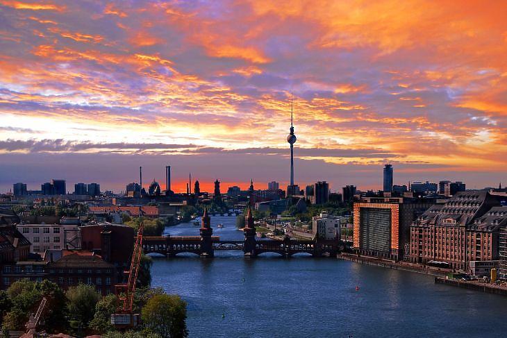 Messze még a tavasz.  (Berlin. Forrás: Depositphotos)