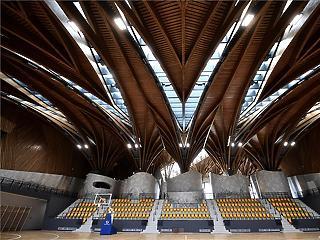 Így néz ki Felcsút legújabb ékszerdoboza, a Puskás Akadémia Sport- és Konferenciaközpont