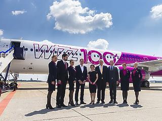 Pár éven belül megtriplázhatja a flottáját a Wizz Air