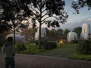 Hollandia megépíti a világ első lakható, nyomtatott házait