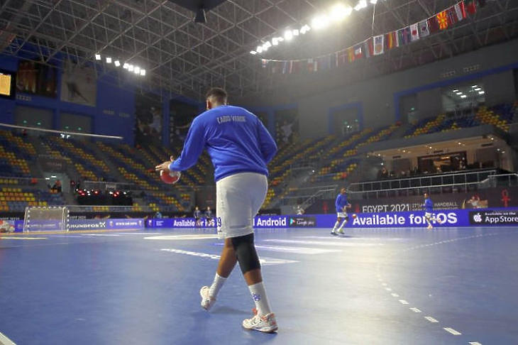 A koronavírus miatt kellett visszalépni a Zöld-foki-szigetek csapatának (Fotó: handballegypt2021.com)