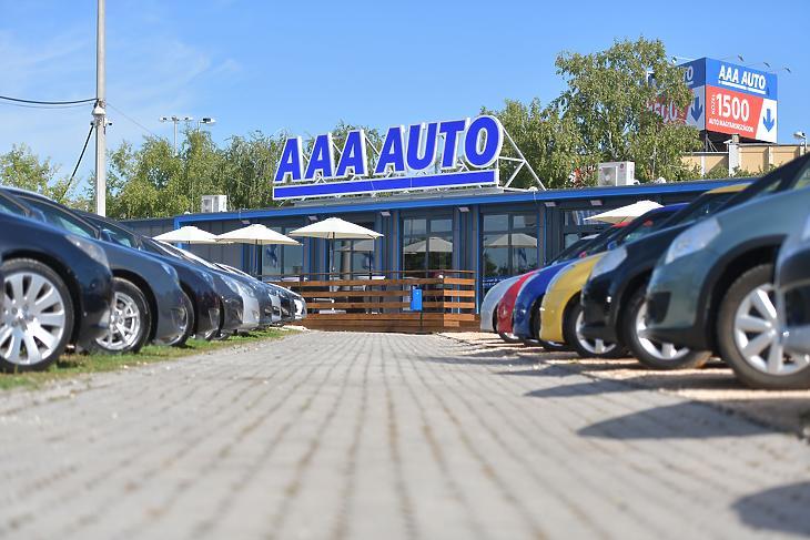 Az AAA Autó budaörsi telephelye