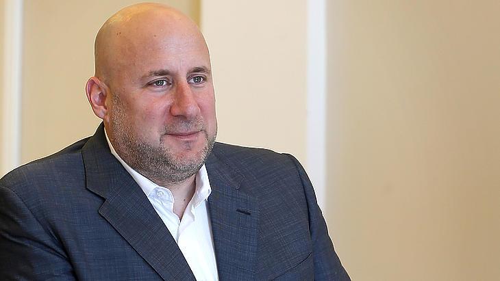 Jászai Gellért, a 4iG fő tulajdonosa és elnök-vezérigazgatója. Fotó: MTI