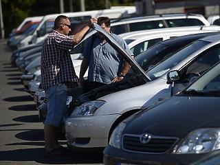 Durván megugrott az új autók eladása májusban