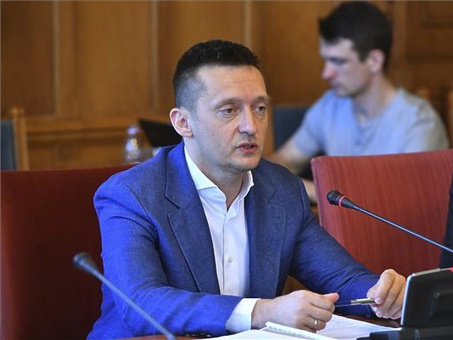 Rogán Antal a bizottság meghallgatásán (Fotó: MTI)