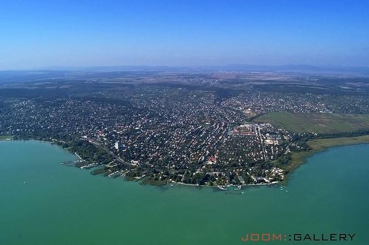 Balatonalmádi látképe (forrás: balatonalmadi.hu)