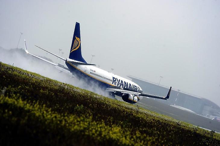 A Ryanair járatát is törölték