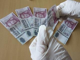 Egy év alatt 42 százalékkal lett kevesebb a hamis pénz az országban