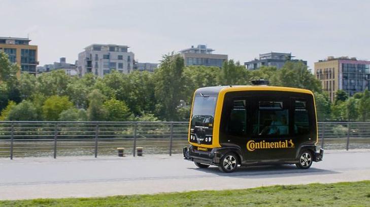 Sokat segíthetnek a Continental fejlesztései, így CUbE nevű vezető nélküli elektromos jármű
