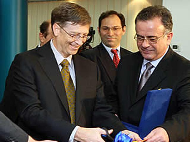 Bill Gates Bukarestben
