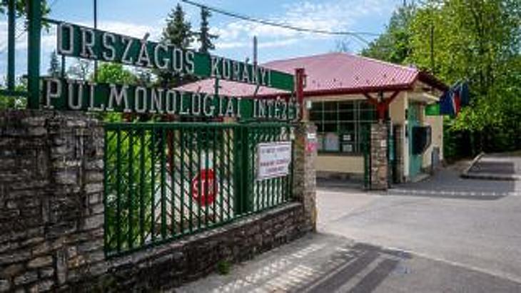 Nullszaldós lett márciusban a pandémia egyik csúcsszerve, a Korányi Pulmonológiai Kórház. Fotó: MTI