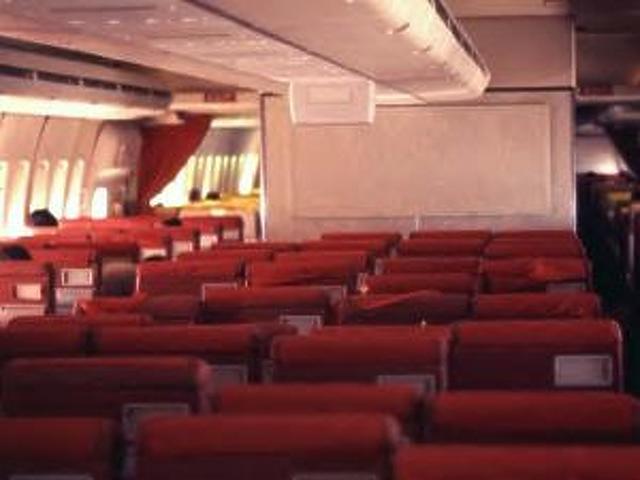 Óriási belső térrel bírnak a 747-esek.