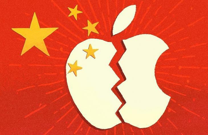 Kínában nem megy jól az Apple