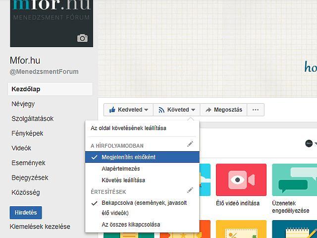 A megoldás az Mfor.hu saját facebookos profilján