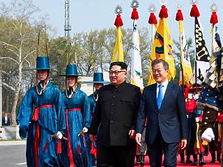 Békét köt a két Korea