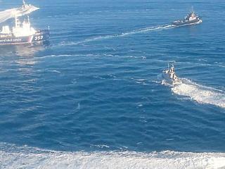 Ukrán hadihajókat foglaltak el az oroszok a Krímnél, sürgősséggel összeül az ENSZ BT