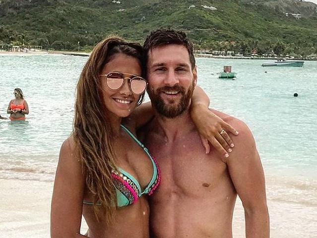 Irigylésre méltó módon töltötte nászútját Messi
