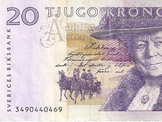 20 korona - Svédország