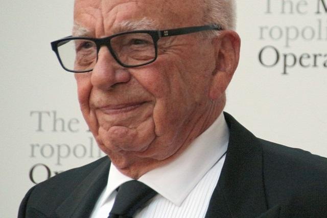 Rupert Murdoch, a Sky alapítója és a 21st Century Fox feje.