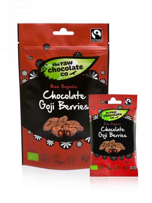 Így néz ki a csomagolt verzió. (Forrás: The Raw Chocolate Company)