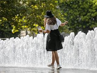 Duplájára nőtt a 50 ° C-ot meghaladó napok száma