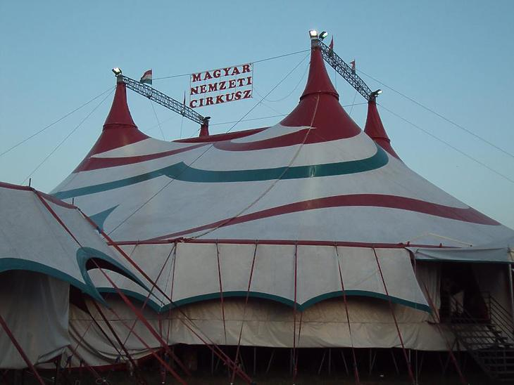 Bizonytalan, mikor és hol láthatjuk legközelebb a Magyar Nemzeti Cirkusz sátrát. Fotó: Wikiepdia